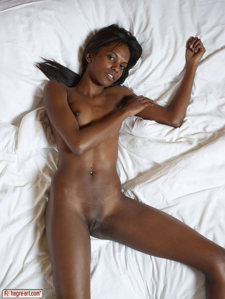 For Black girls naked on bed mine very
