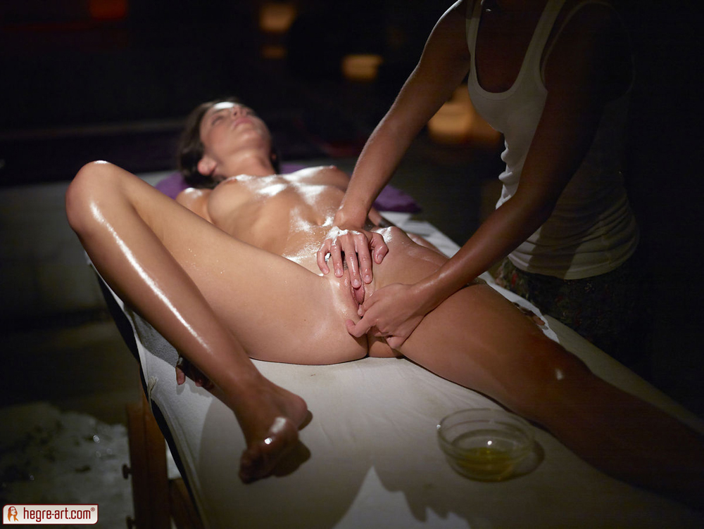 massage erotic Nude female