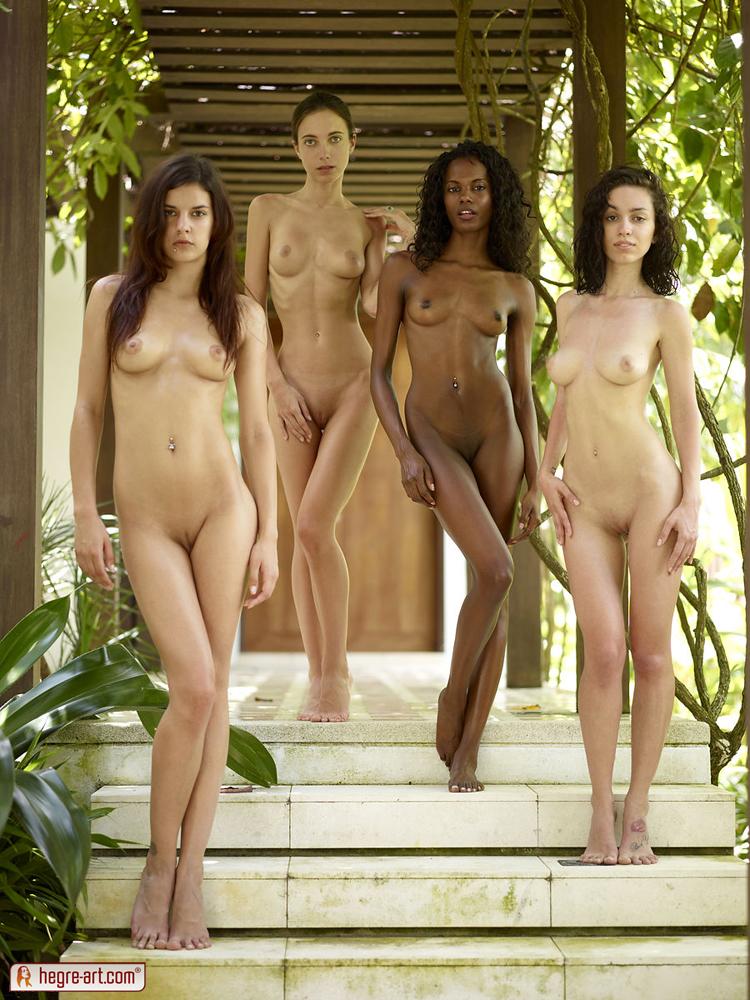 Group Nude Art Model 121