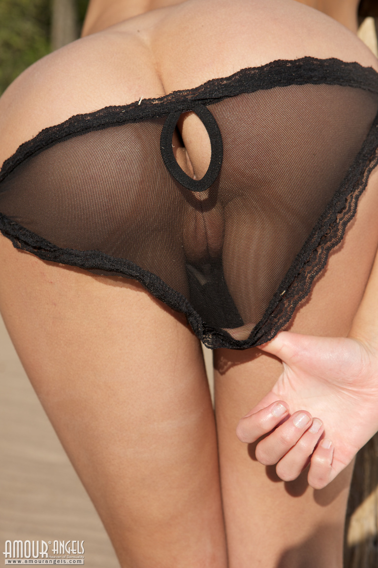 Girl off pantie shaved taking