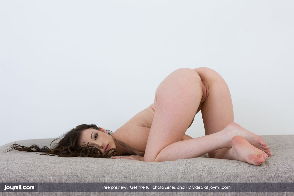 Naked wife face down