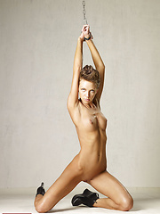 Erotic picture of Olena has been a bad girl! She needs to get punish! She is waiting for it!