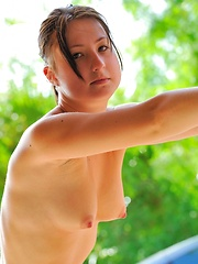 Erotic picture of Veronika sporty and fit
